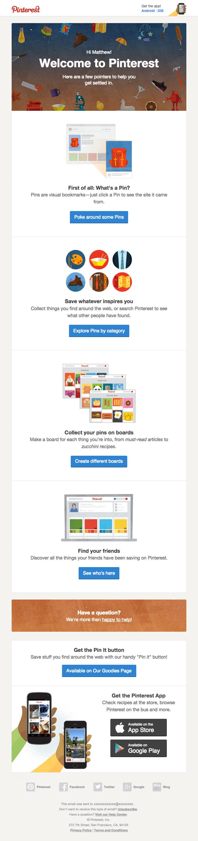 10 Emails de Boas-Vindas para inspirar o seu primeiro contato